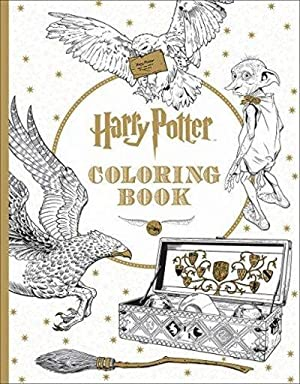 Harry Potter The Official Coloring Book 1