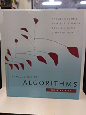Introduction to Algorithms: Ronald L. Rivest,