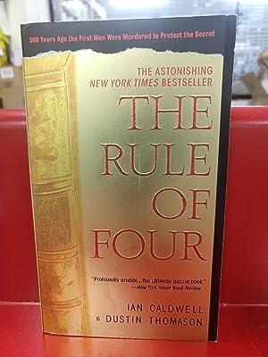 The Rule of Four: Dustin Thomason, Ian