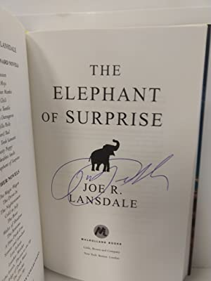 The Elephant of Surprise (SIGNED)