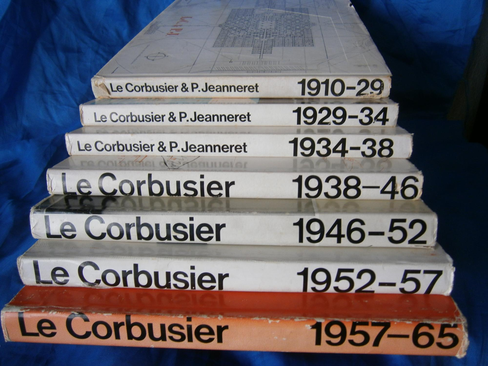 le corbusier oeuvre complete oeuvres completes. Black Bedroom Furniture Sets. Home Design Ideas