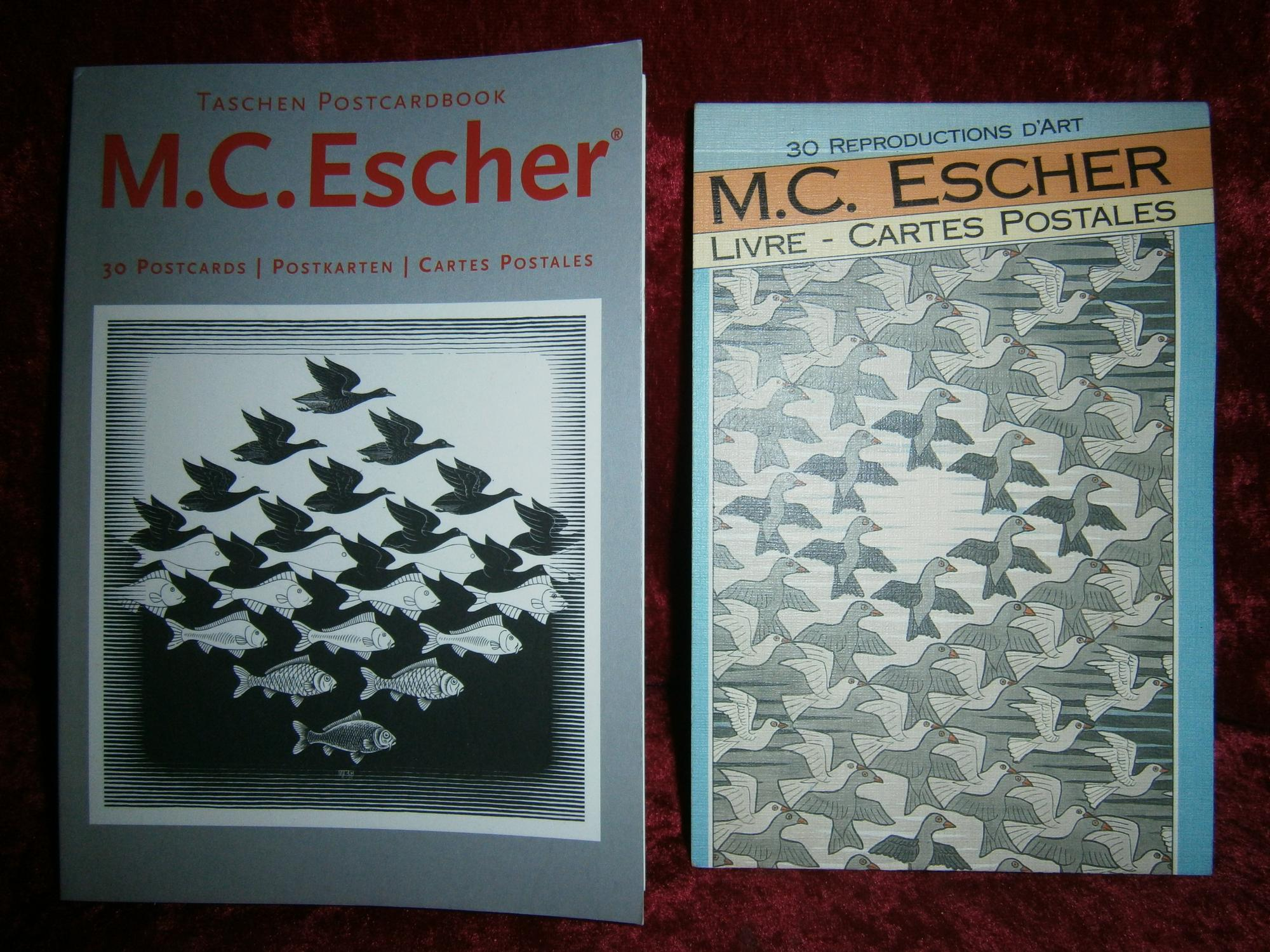 M C Escher Postcardbook 30 Postcards