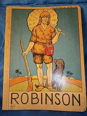 ROBINSON CRUSOÈ Orné de 12 Planches couleurs: DEFOE Daniel /