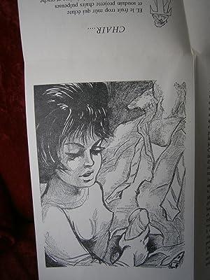"""PETITE SUITE EROTIQUE EN CAMAÏEU Collection """" A BISAG """" ( CURIOSA ): ANONYME"""