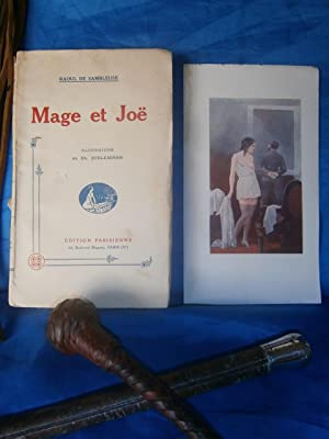 MAGE ET JOË 1927 ( EROTIQUE - SAPHISME - FLAGELLATION SADO-MASOCHISME ): SAMBLEUSE Raoul DE / ...