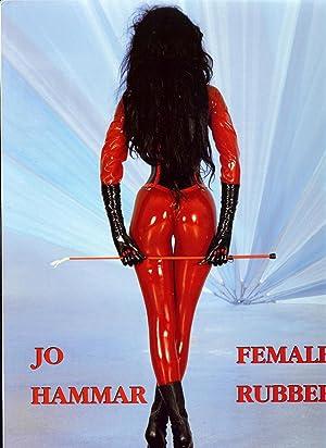 FEMALE RUBBER ALBUM de 122 pages de Photos Couleurs de SADOMASOCHISME: HAMMAR Jo