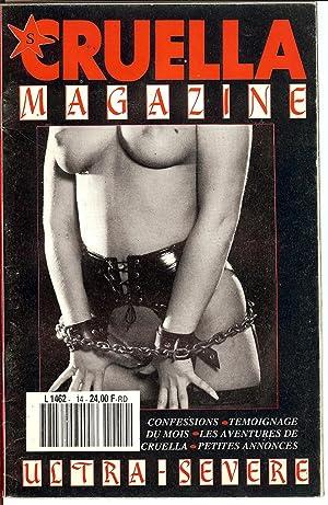 CRUELLA MAGAZINE - ULTRA - SÈVERE N° 14 / 1990 ( EROTIQUE SADOMASOCHISME , BONDAGE , FETICHISME / ...