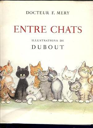 ENTRE CHATS Illustré par DUBOUT: MERY Docteur F.