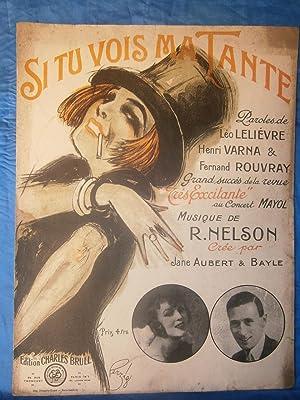 1925 . GRANDE PARTITION ILLUSTRÈE 27 x: R. NELSON /