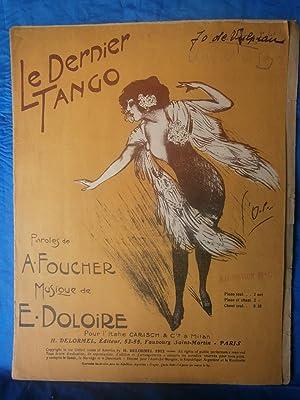 1913 . GRANDE PARTITION ILLUSTRÈE 27 x: E. DOLOIRE /