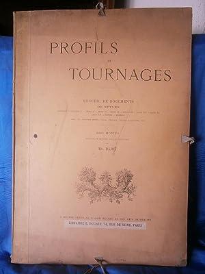 PROFILS et TOURNAGES - RECUEIL de DOCUMENTS: BAJOT Ed. (
