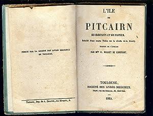 L' ILE de PITCAIRN , SES HABITANTS: MURRAY Thomas /