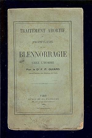 traitement abortif et prophylaxie blennorragie chez l'homme ...