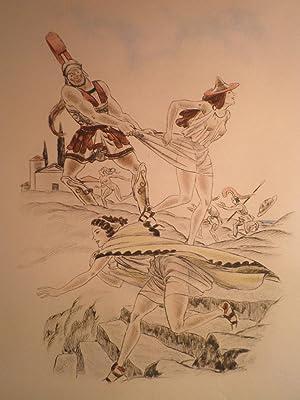 LYSISTRATA: ARISTOPHANE Illustrations de