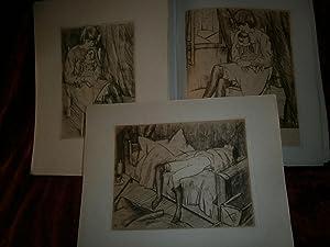 TITINE HISTOIRE D ' UN VIOL . EXEMPLAIRE réimposé grand format 20 x 25 cm , sur papier de ...