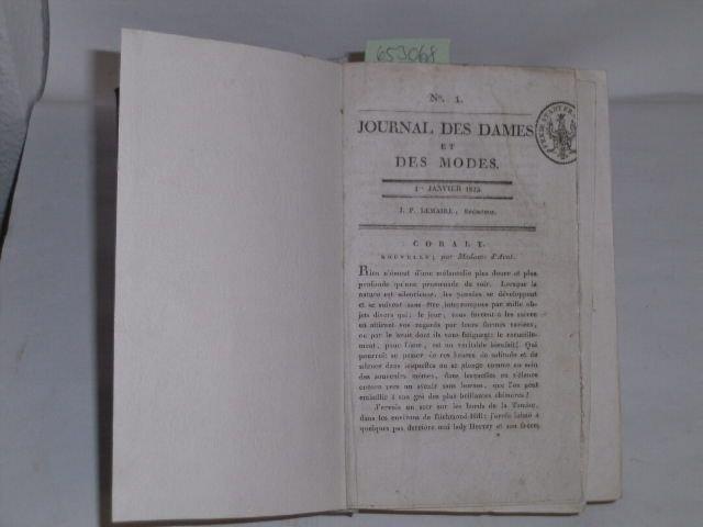 Journal des Dames et des Modes. No.: Lemaire