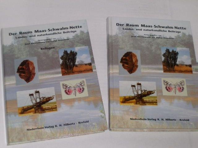 Der Raum Maas-Schwalm-Nette. Landes- und naturkundliche Beiträge-: Klostermann, Josef: