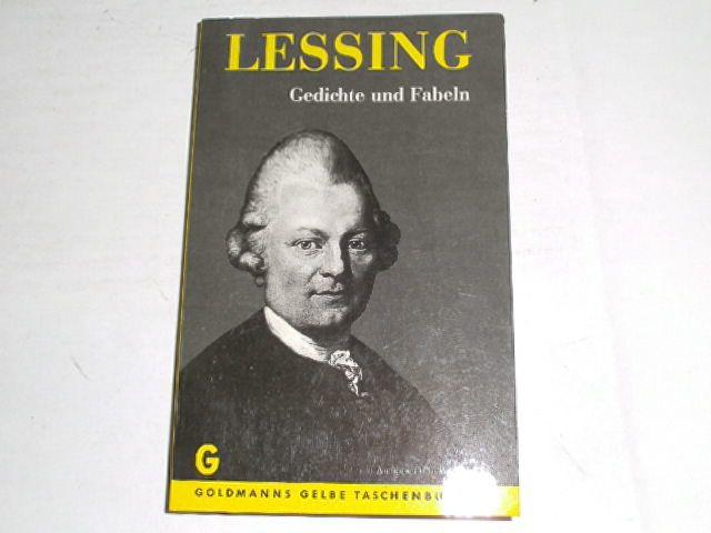 Lessing Werke Und Briefe In Zwölf Bänden : Gedichte fabeln von lessing zvab