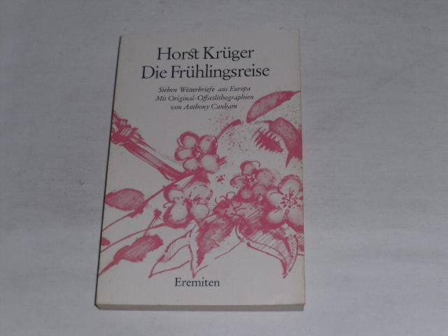 Die Frühlingsreise. 7 Wetterbriefe aus Europa. Broschur Nr. 153
