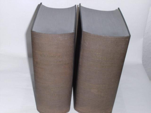 Ausführliches lateinisch - deutsches Handwörterbuch. 2 Bände.: Georges, Karl Ernst: