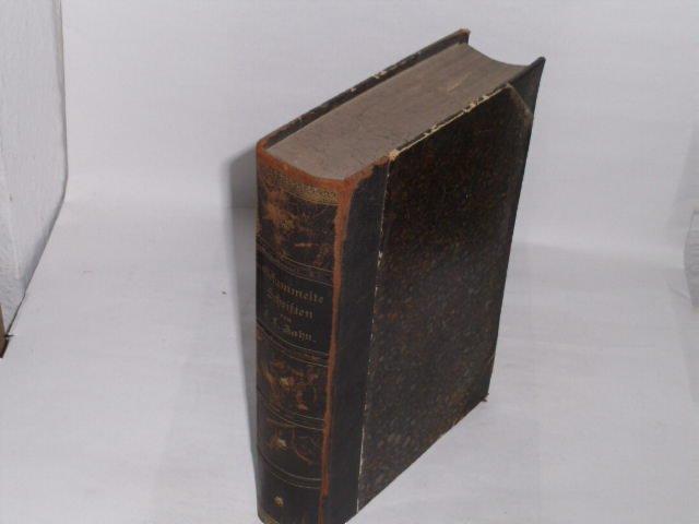 Gesammelte Schriften.: Zahn, Franz Ludwig:
