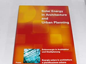 Solar energy in architecture and urban planning.: Herzog, Thomas: