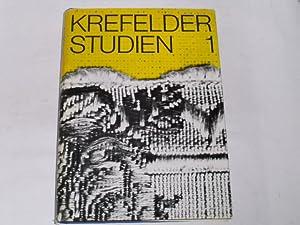 Krefelder Studien 1.: Rotthoff, Dr. Guido: