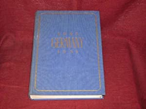 Germany 1945 - 1954. This book is: Boas