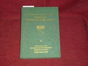 Inventare nichtstaatlicher Archive. 27 Hochdeutsch-Reformierte Gemeinde : Diverse