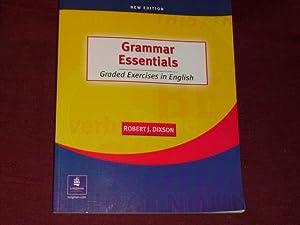Grammar Essentials: Graded Exercises in English.: Dixson, Robert J.