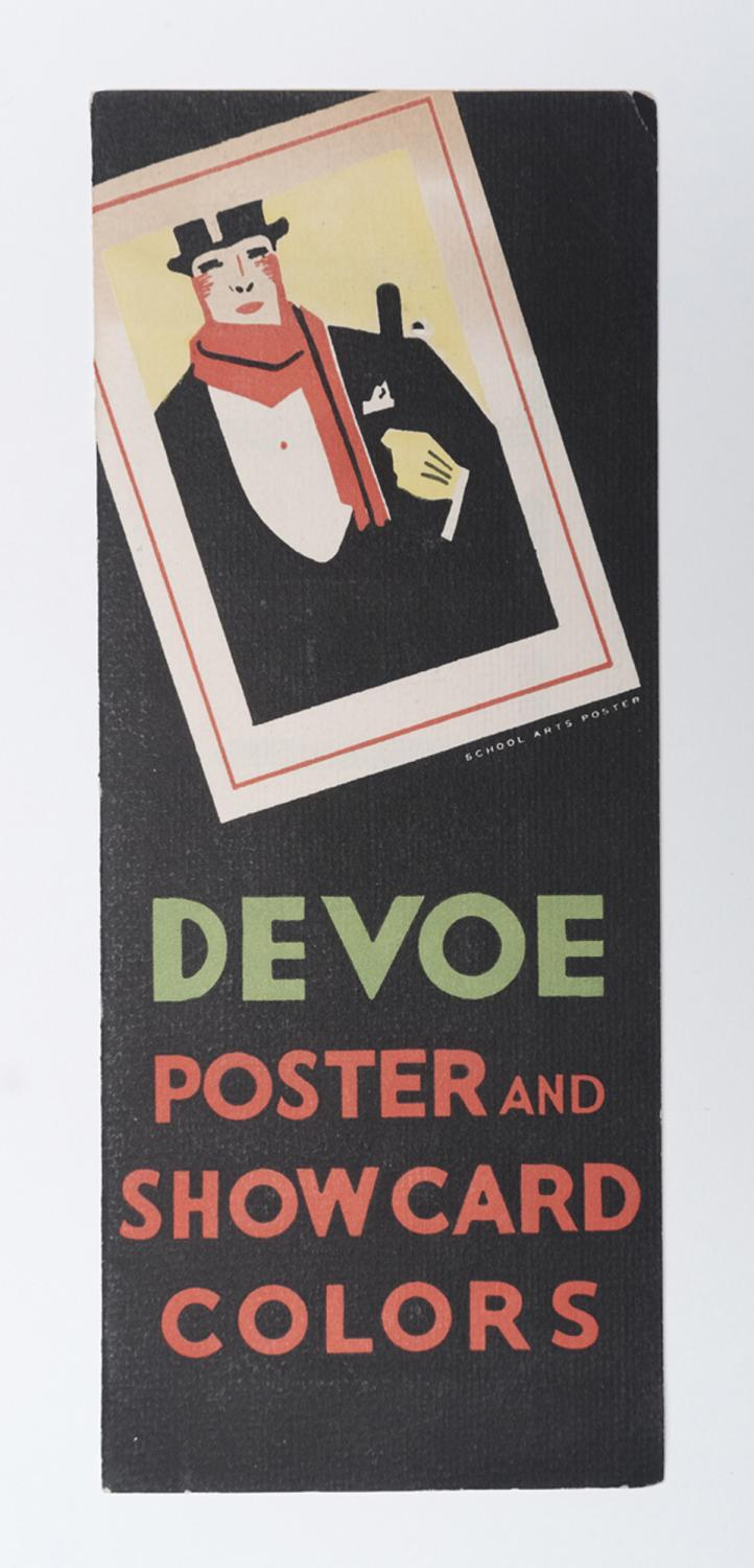 Devoe Poster and Showcard Colors\