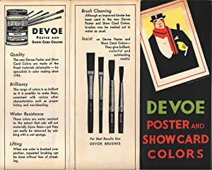 "Devoe Poster and Showcard Colors"" Sample Book: DEVOE PAINT]"