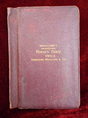 Wellcome's professional nurse's diary, 1903-4