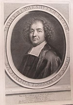 Portrait of French Priest and Encyclopedist Louis Moréri [1643-1680].