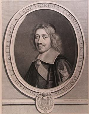 Portrait of French statesman Michel Le Tellier [1603-1685].
