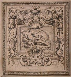 Ornemens de peinture et de sculpture, qui: BERAIN, [Jean] [1640-1711].