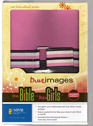 NIV True Images: The Bible for Teen Girls, Bubble Gum/Chocolate Duo Tone (1984 Translation)