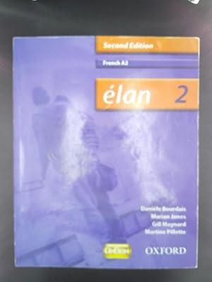 Élan: 2: A2 Students' Book (Elan) [Paperback]: Bourdais, Danièle