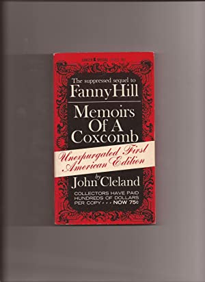 """Memoirs Of A Coxcomb (Sequel to """"Fanny: Cleland, John (Introduction"""