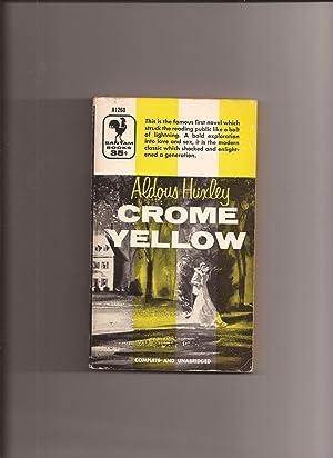 Crome Yellow: Huxley, Aldous