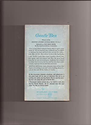 Gentle Ben (TV Tie-in): Gentle Ben) Morey, Walt (illustrated by John Schoenherr)