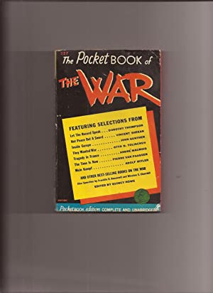 The Pocket Book of The War: Howe, Quincy (edited