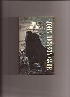Captain Cut-Throat: Carr, John Dickson