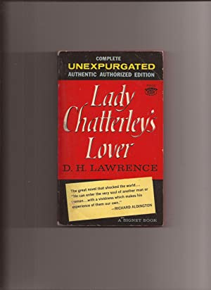 Lady Chatterley's Lover (Unexpurgated) (Made into Movie): Lawrence, D.H. (Afterword