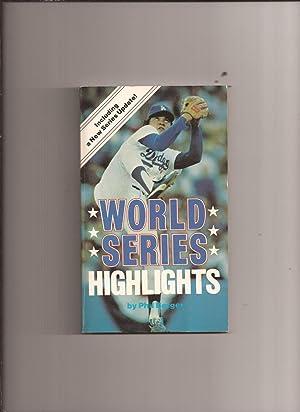 World Series Highlights: Berger, Phil (1982