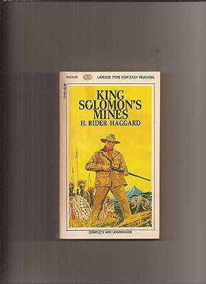 King Solomon's Mines (Made into Movie): Haggard, H. Rider