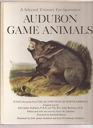A Selected Treasury For Sportsmen, Audubon Game Animals