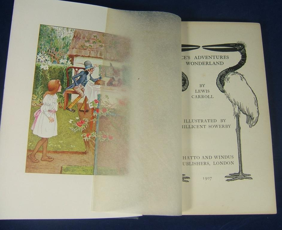 Alices Adventures in Wonderland - Illustrated by Millicent Sowerby