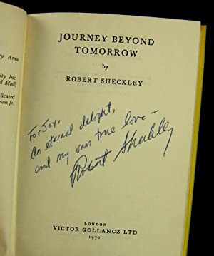 JOURNEY BEYOND TOMORROW (Intimately Inscribed By the Author To His Wife): Sheckley, Robert
