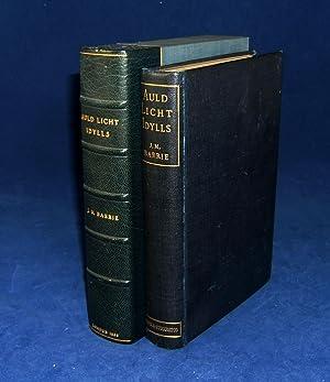 AULD LICHT IDYLLS (Author's First Novel): Barrie, J[ames[. M[atthew]. J. M.